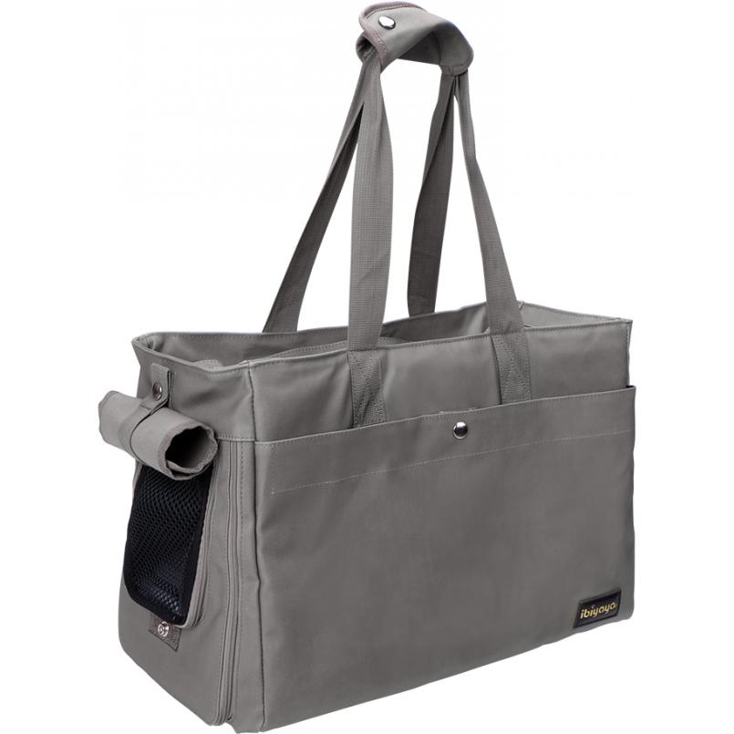 Canvas Pet Tote - Gray