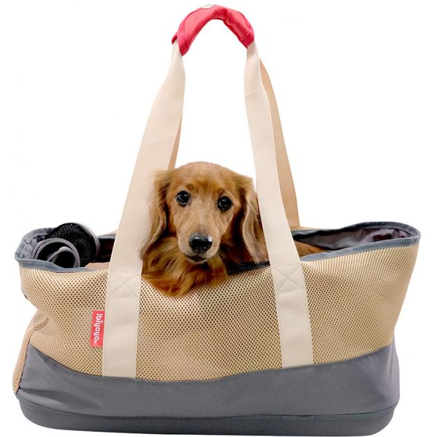 Breathable Dachsuhnd Pet Carrier - Khaki