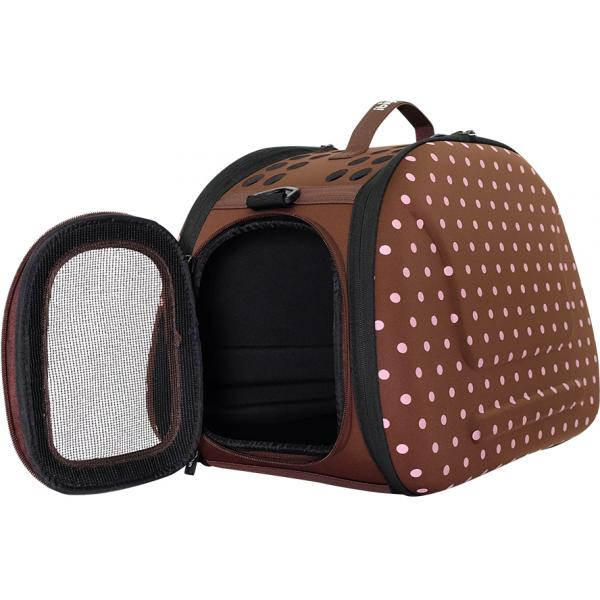 Collapsible Traveling Shoulder - Brown