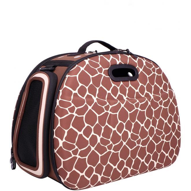 Safari Hard Case Tote - Giraffe