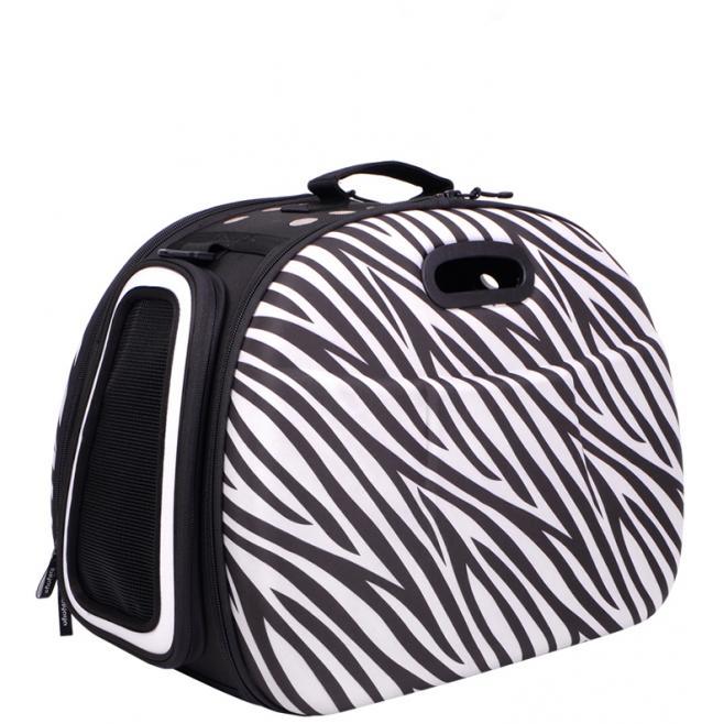 Safari Hard Case Tote - Zebra