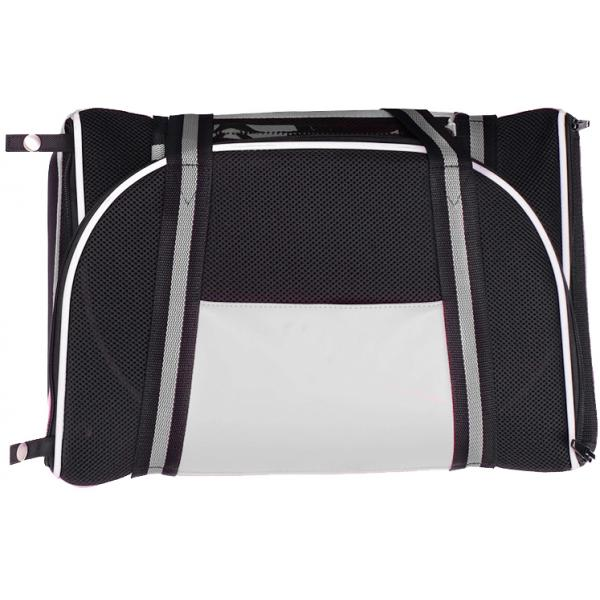 Double Fun Pet Carrier - Metallic Silver