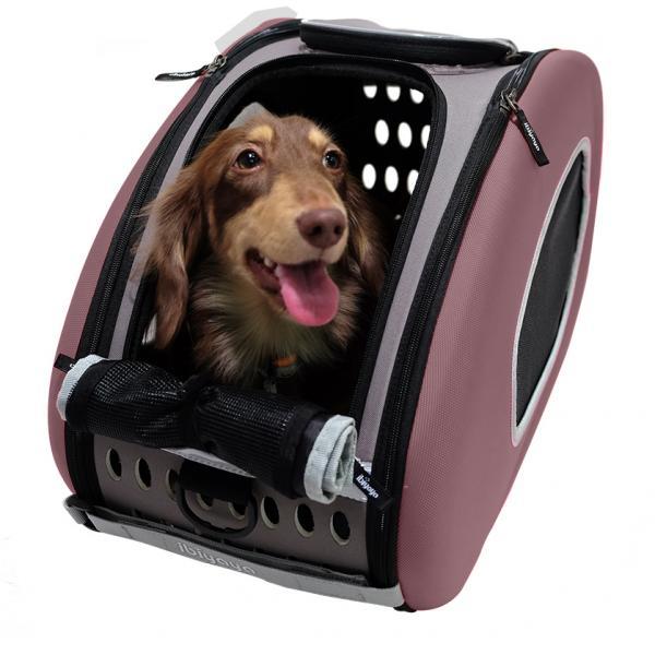 Eva Pet Carrier Wheeled - Chocolate