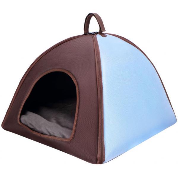 Eva Little Dome XL - Blue & Brown