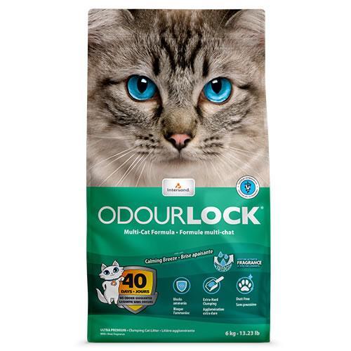 Intersand Odourlock Calming Breeze - 6kg