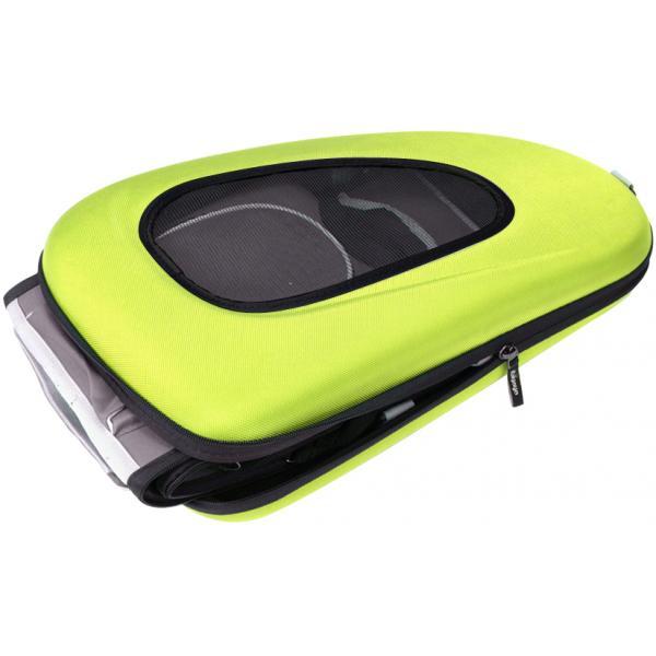 Eva Pet Carrier Wheeled - Apple Green