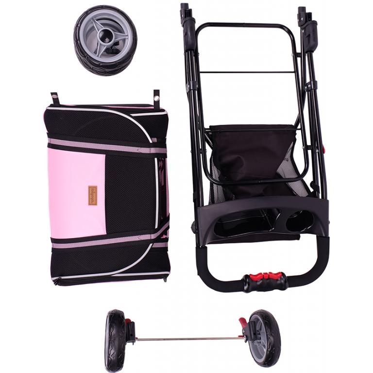 Double Fun Stroller - Love Pink