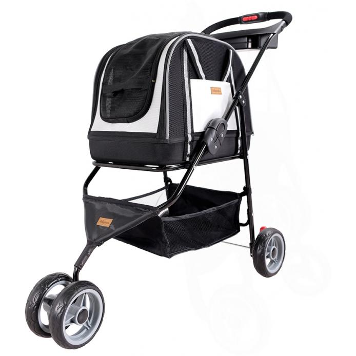 Double Fun Stroller - Metallic Silver
