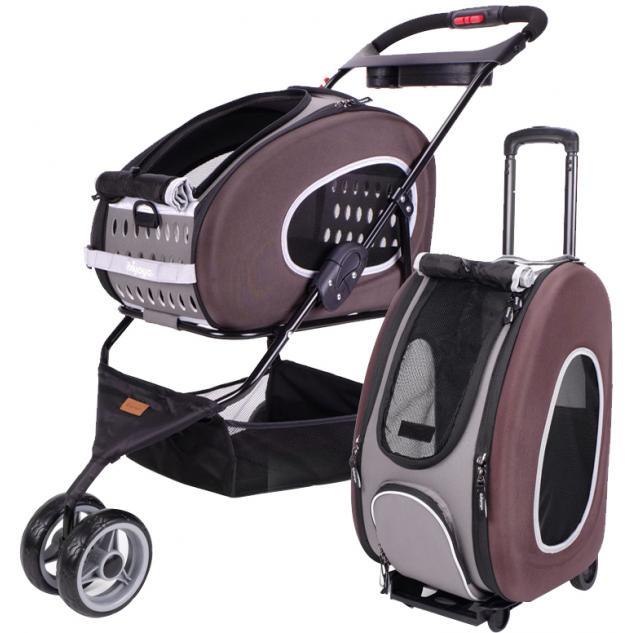 Combo Eva 5-in-1 Stroller - Chocolate