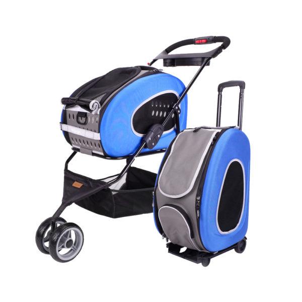 Combo Eva 5-in-1 Stroller - Royal Blue
