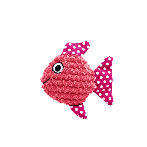 Cat Toy Mamou Fish - Pink